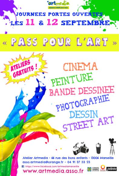 flyer pass pour l'art